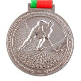 カスタム記念品3Dの金属はリボンが付いているメダルを遊ばす