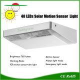 48 Solar LED Luces de jardín con sensor de movimiento de la luz de exterior de aluminio