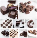 Terminar a esfera do chocolate que faz a máquina