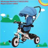 Triciclo Bebé com guarda-chuva dobrável