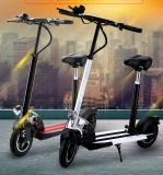 Алюминий электрический мопед скутер с мотор 400 Вт
