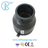 Conexão de redutor de HDPE fabricados na China