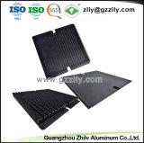Espulsione di alluminio/di alluminio di profilo per l'indicatore luminoso di via del dissipatore di calore LED con ISO9001 ha certificato