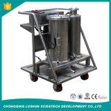 Máquina resistente al fuego de la limpieza del petróleo del éster confiable del fosfato, máquina de filtración del aceite lubricante del vacío para la venta