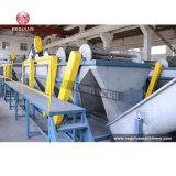Pet/PE/PP/PVC Plastikflasche, die Waschmaschine-Zeile aufbereitet
