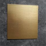 PE/PVDF revestido de color/placa de aluminio pulido de la hoja (serie)