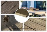 Extérieur--Co-Extruded étanche ou fermés WPC Type de revêtement de sol solide, le pontage