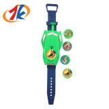 선전용 아이 플라스틱 디스크 시계 총격사건 장난감
