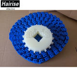 Hairise7100 Cadeia de plástico da correia do transportador para a indústria alimentar