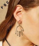 최신 형식은 보석 새 모델 종려 귀걸이를 디자인한다