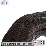 Reliure recuit noir fil de bobine de fil métallique de tissu noir