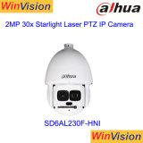 SD nuevo6al230f-Hni Dahua 2MP 30x 500m de la cámara de infrarrojos Poe Starlight PTZ IP