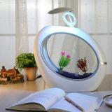 Wohnzimmer-Tischplattenacrylminifisch-Becken-Schreibtisch-Lampe