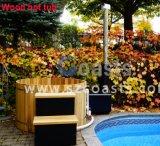 20 anni della fabbrica di vasca calda infornata legno esterno della STAZIONE TERMALE