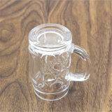Taza hecha a mano del vidrio de vino del arte del diseño creativo