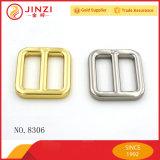 金属の調節装置のベルトの留め金によってはリングのスライドのバックルが三すべる