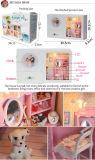Nouvelle arrivée Maison de poupée DIY mobilier miniature avec l'horloge