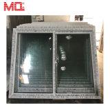 La maggior parte della fabbrica popolare UPVC della Cina che fa scorrere la doppia finestra di vetro del vinile