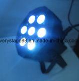安い価格7X10W RGBW LEDの細く平らな同価ライト