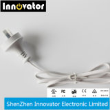 12V de Levering van de Macht van het Type van 1.25A15W Desktop voor LEIDENE Licht, Audio & Laptop