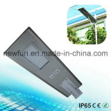 40W 운동 측정기 통합 LED 태양 가로등