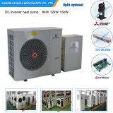 Amb. Le mètre Room+Dhw 12kw/19kw/35kw du chauffage d'étage de l'hiver de -25c 100~350sq Automatique-Dégivrent le prix de l'essence de la chaleur de source d'air d'Evi