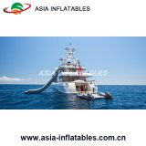 2018 Hot Single Drop Fall Inflatable Water Slide Yacht Slide