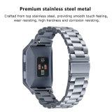 De nieuwe Stevige Band van het Horloge van het Roestvrij staal voor Ionische Fitbit