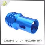 Het aangepaste Aluminium anodiseerde CNC van de Delen van de Machine Precisie machinaal bewerkte Delen