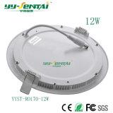 6With12W rotondo/alta qualità sottile dell'indicatore luminoso comitato del quadrato LED