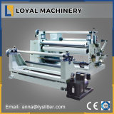 BOPP, PVC, Pet 의 PE를 위한 수평한 Plastic Film Roll Automatic Slitting Machine