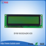 LCD van het Type van Syb160X32 Azkv20 Geelgroene Vertoning Stn Grafische 16032 LCD