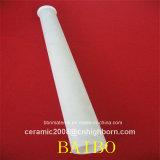 Tubo ensanchado de cerámica del alúmina de encargo
