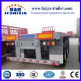 China Novo Aço Carbono de travagem antibloqueio ABS 50t 3eixos 40FT Camião de Reboque com ISO, certificados de CCC