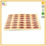 Kundenspezifischer Aufkleber-Drucken-Fabrik-Aufkleber