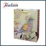 El diseño del pollo vende al por mayor barato modifica el bolso impreso pequeño papel de la insignia para requisitos particulares