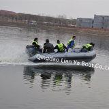 Liya 4.7m militärisches aufblasbares Cer des Boots-10person genehmigt