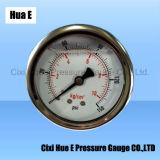de Gevulde Manometer van het Bewijs van de Trilling van 60mm Vloeistof