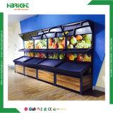 Supermarkt-Luxuxspeicher-Obst- und GemüseAusstellungsstand