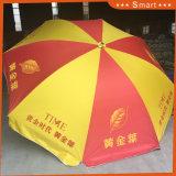 ファブリック1.8m広告の屋外浜の市場の傘