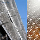 Feuillards perforés en aluminium de revêtement de construction de panneau