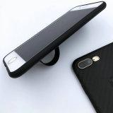Случай сотового телефона гибкого держателя мягкий TPU Kickstand простирания Shrink
