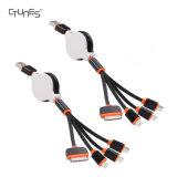 Qualité de la meilleure qualité 4 dans 1 connecteur de remplissage multiple d'adaptateur de câble d'USB avec Pin 8 bornes/30/USB micro/mini ports USB