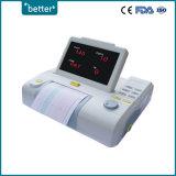 Фетальный монитор FD-2c, 7-дюймовый ЖК/светодиодных, одиночный/двойня портативный монитор плода матери