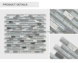 Mosaico de tira del vidrio cristalino de la pizarra del metal del azulejo de la pared del color de la mezcla