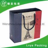 専門的にハンドルが付いている供給の安く、一義的な紙袋は卸し売りする