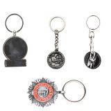 Personnaliser Chambre détenteur de monnaie en forme de métal du trousseau de clés avec anneau pour clés
