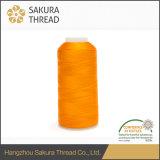 Filetto viscoso 100% del rayon di Sakua 120d/2 con 1680 colori in azione