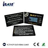 Grüßende Videokarte der LCD-Geschäfts-Geschenk-Videokarte-TFT, LED-Videokarte