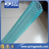 Mangueira reforçada trançada da água do PVC do diâmetro de 3/4 de polegada fibra interna
